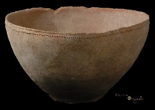 Phoenician Bronze Age Holy Land Pottery Bowl 015528 photo