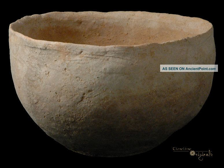 Phoenician Bronze Age Holy Land Pottery Bowl 015529 Near Eastern photo