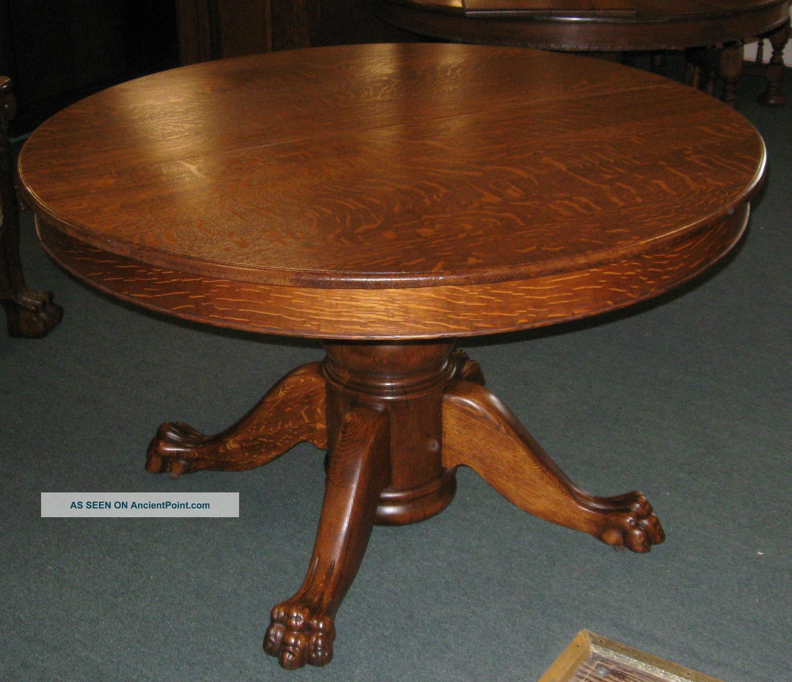 Antique Oak Table ~ Dining table american antique styles