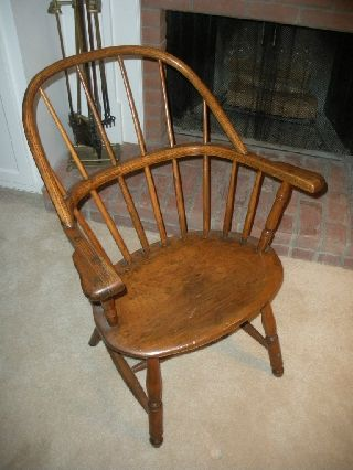 18th/early 19th Century Windsor Chair photo