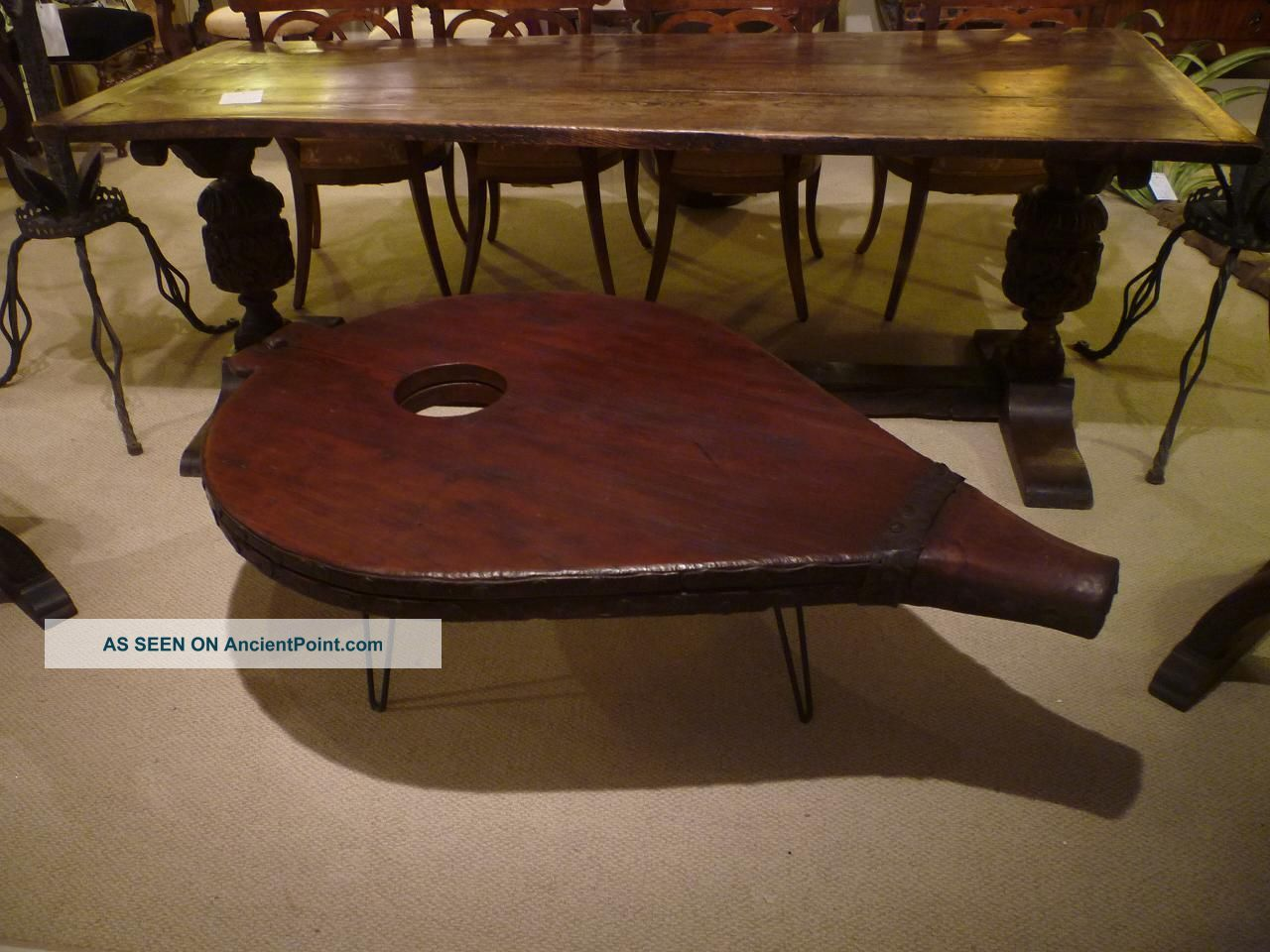Industrial Coffee Table 1800-1899 photo