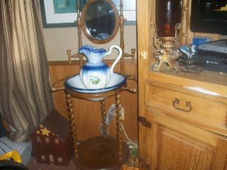 Antique ?wash Basin Stand photo