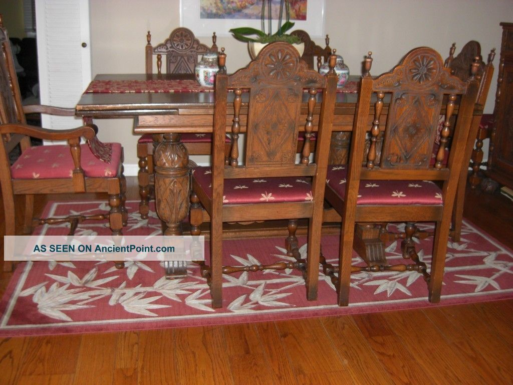 Remarkable Antique Carved Oak Dining Room Set 1024 x 768 · 132 kB · jpeg