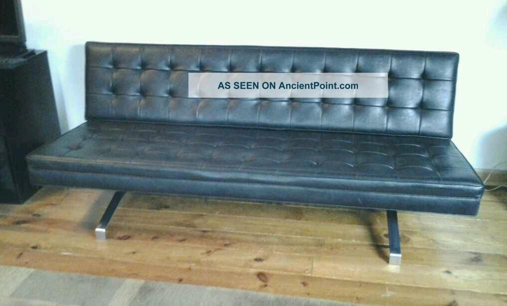 1970 U0027 S Mid   Century Modern Chrome Sofa By Patrician Furniture Milo  Baughman Era