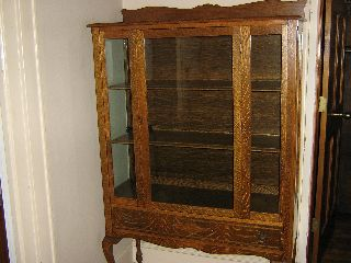 Antique Curio Cabinet photo