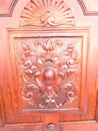 Outstanding Pair Of French Highly Carved 19th Century Cabinet Dooors photo