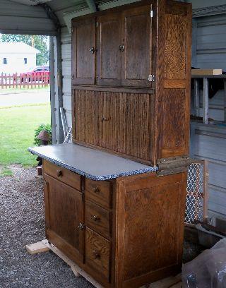 Hooiser Style Kitchen Cupboards photo