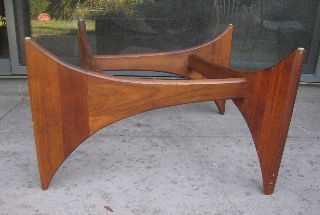 Adrian Pearsall Craft Associates Walnut Mid Century Eames Coffee Table photo