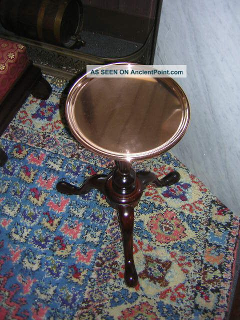 Kittinger Copper Top Kettle Stand - Must See Post-1950 photo