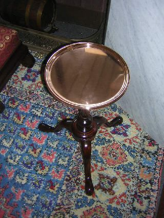 Kittinger Copper Top Kettle Stand - Must See photo