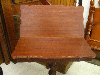 Early 19th Century Walnut Chippendale Style Flip Top Game Table photo