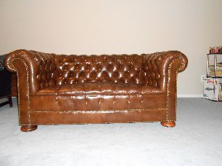 Vintage Chesterfield Sofa/loveseat photo