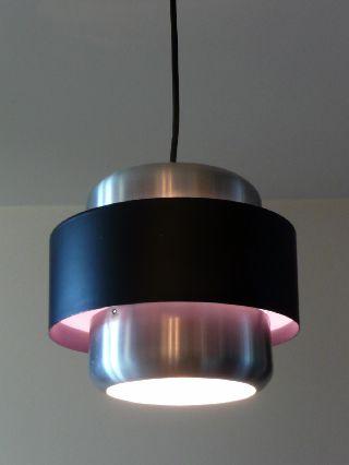 1970s Danish Ceiling Lamp Mid Century Modern Lyfa Fog Morup Nordisk Solar 60s photo