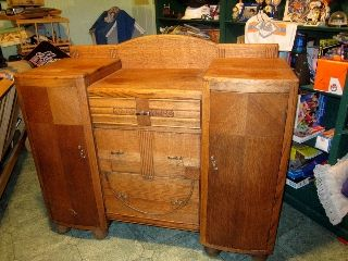 Buffet - Sideboard - Vintage photo