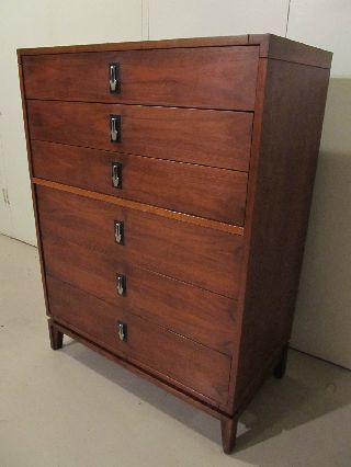 Rare Mid - Century Modern John Keal For Brown Saltman Chest Of Drawers Gorgeous photo