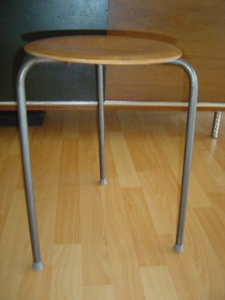 Mid Century Modern Tony Paul Style Stacking Table photo