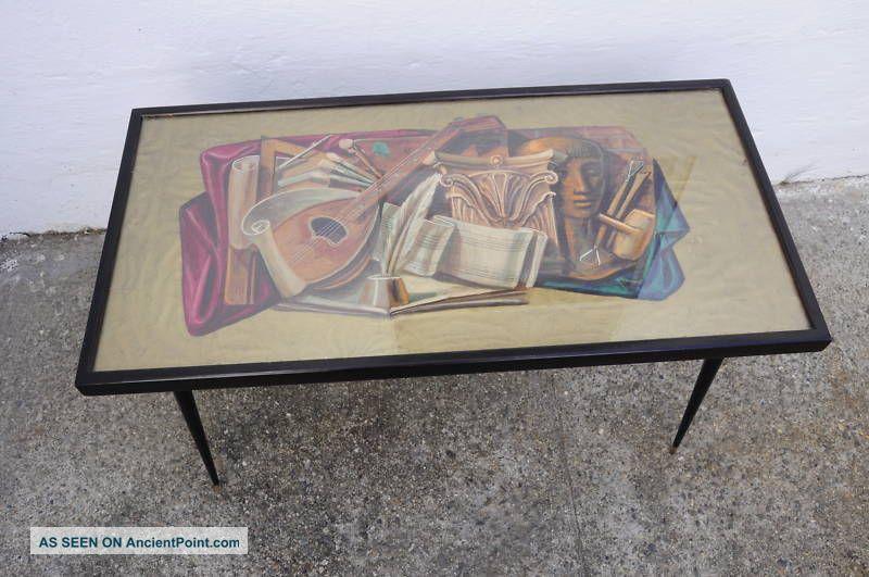 Aldo Tura Coffe Table,  Italy,  Gio Ponti,  Borsani,  Parisi Post-1950 photo