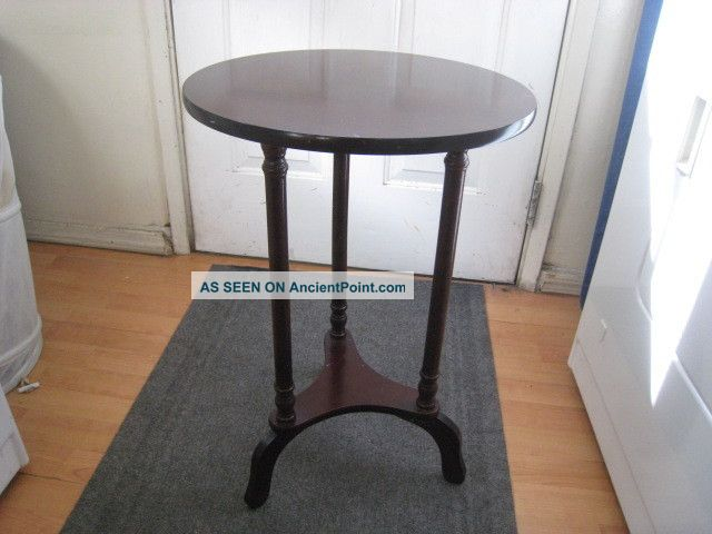 Antique Side Table Post-1950 photo
