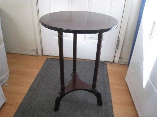 Antique Side Table photo