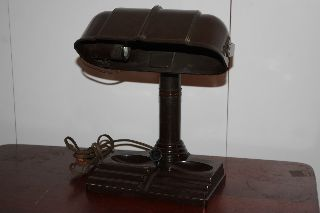 Bakelite Desk Lamp Stand - Parts photo