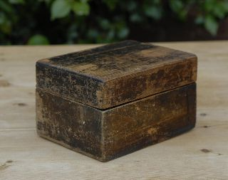 Country Pine Box Paint Victorian 1850 Rustic Arts&crafts Morris Pugin photo