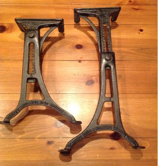 Cast Iron Table Legs photo