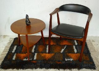 Modern Danish Design - Teak Armchair - 7 - Eames,  Wegner Era photo