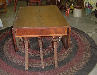 Mahogany Dining Room Table photo