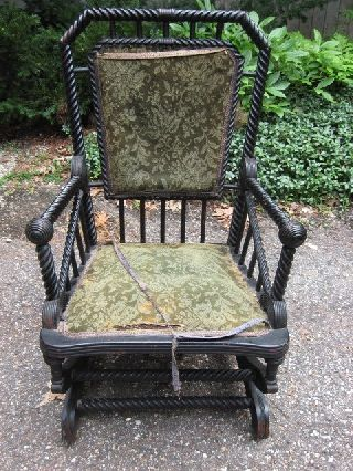 Hunzinger Platform Rocker All,  No Excuses,  Ready To Upholster photo