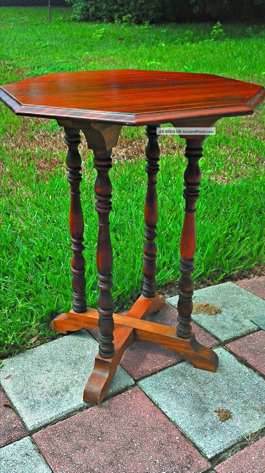 Vintage,  Antique,  Jb Van Scriver Center Table,  Side Table 1900-1950 photo