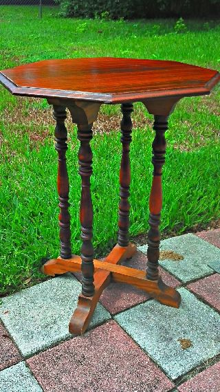Vintage,  Antique,  Jb Van Scriver Center Table,  Side Table photo