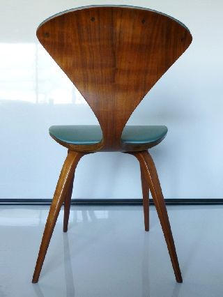 Norman Cherner Plywood Chair By Plycraft Vintage 50 ' photo
