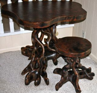 Unique Rosewood Table photo