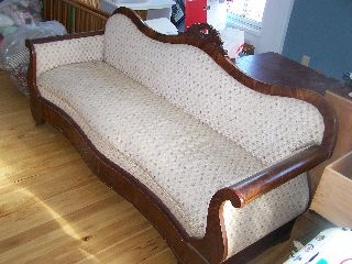 Victorian Parlor Couch photo