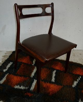 Modern Danish Design - Rosewood Chair - 2 - Eames,  Wegner Era photo