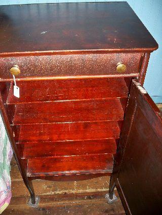 Mahogany Music Cabinet photo