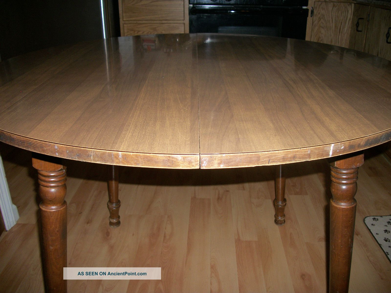 Rock Maple Tell City Chair Company Dining Table-ancientpoint.com