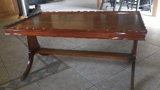 Vintage 1940,  S Mahaugany Claw Foot Coffee Table Awsome photo