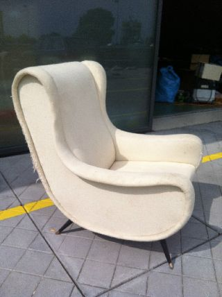 Marco Zanuso Senior And Lady Chair 1951 For Arflex/zanotti photo