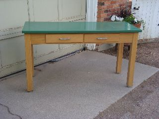 Very Cool Vintage Laboratory Table photo