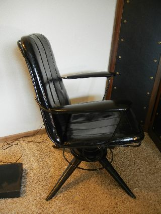 Vintage Mid Century Modern Berton Bottemiller Homecrest Chair Rocking Swivel photo
