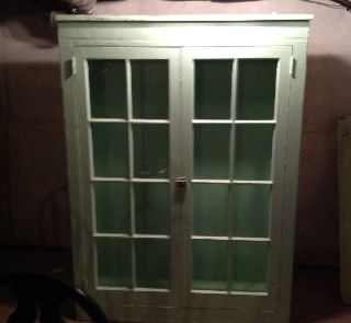 Antique China Cabinet photo