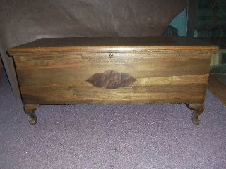 Vintage Mid Century Eames Style Lane Cedar Blanket Hope Chest Claw Ball Feet photo