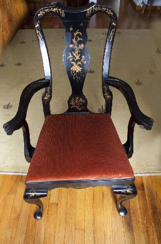 Hitchcock Queen Anne Arm Chair photo
