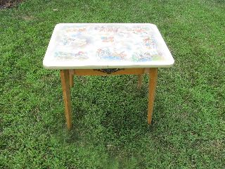 Vtg Antique German Desk