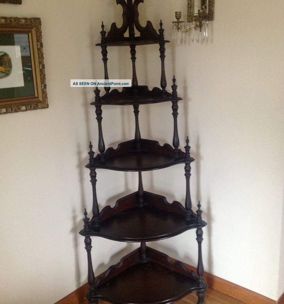 Victorian Gothic Etagere Must See :) 1800-1899 photo