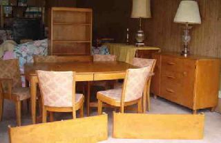 Heywood - Wakefield Full 9 Piece Dining Room Set: Price Reduction photo