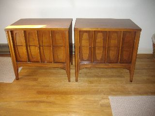 Vintage Pair Of Nightstands Kent Coffey photo