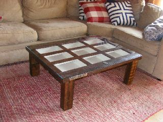Pottery Barn Coffee Table photo