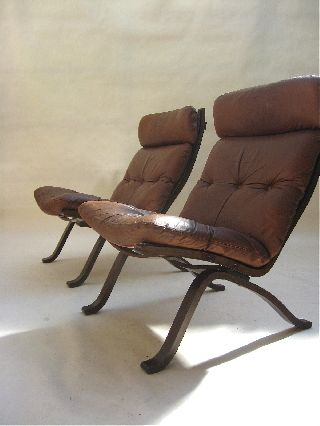 Set Bentwood Leather Lounge Chairs Danish Modern 60,  S Jacobsen Wegner Eames Era photo